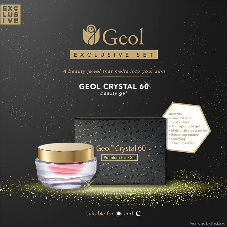 GEOL Crystal 60 Promotion Banner